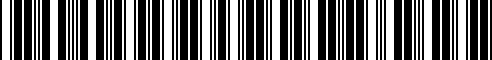 Barcode for 66811-40P00