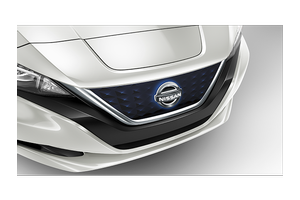 Illuminated Grill Emblem image for your Nissan Leaf